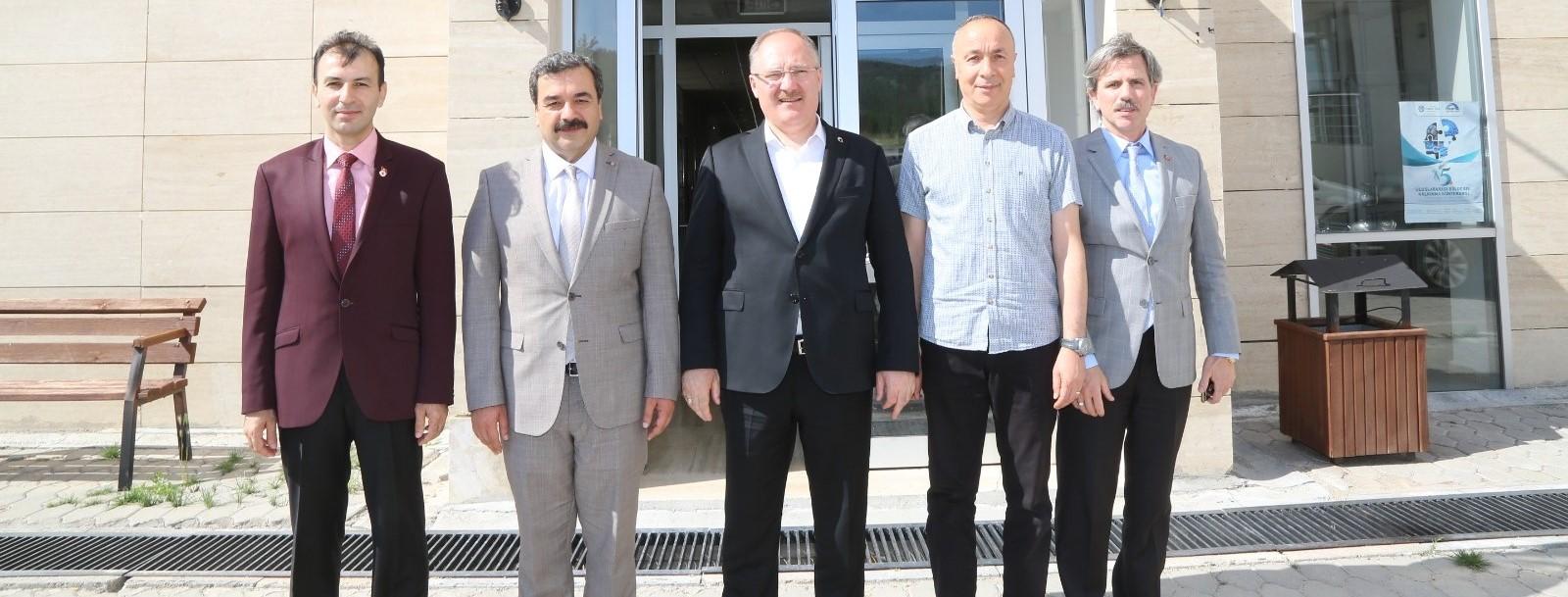 Sivas Belediye Başkanımız Sayın Hilmi Bilgin Üniversitemizi Ziyaret Etti
