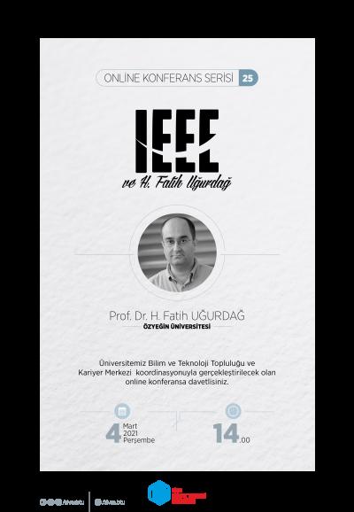 IEEE ve Hacı Fatih Uğurdağ
