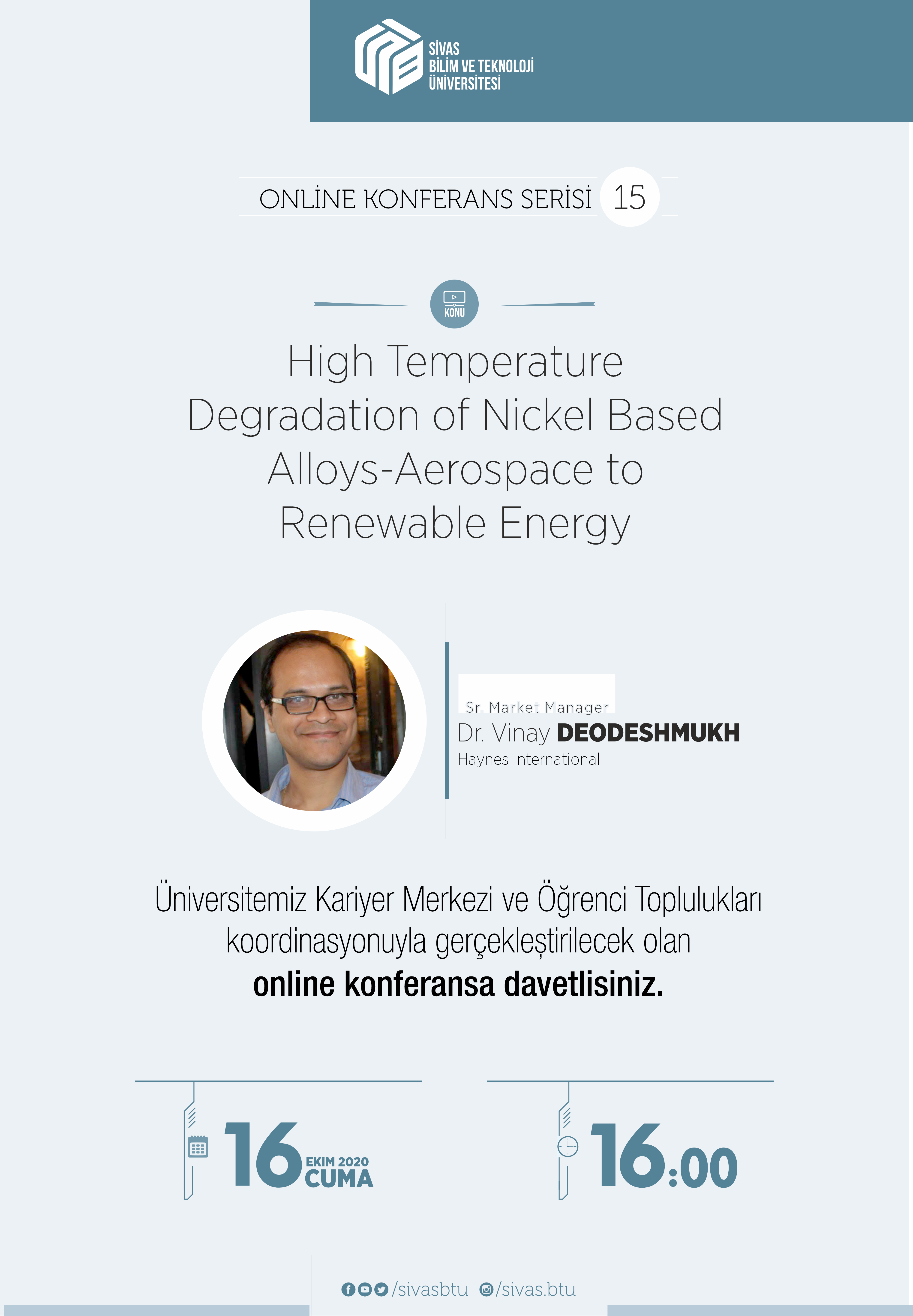 High Temperature  Degradation of Nickel Based  Alloys-Aerospace to  Renewable Energy