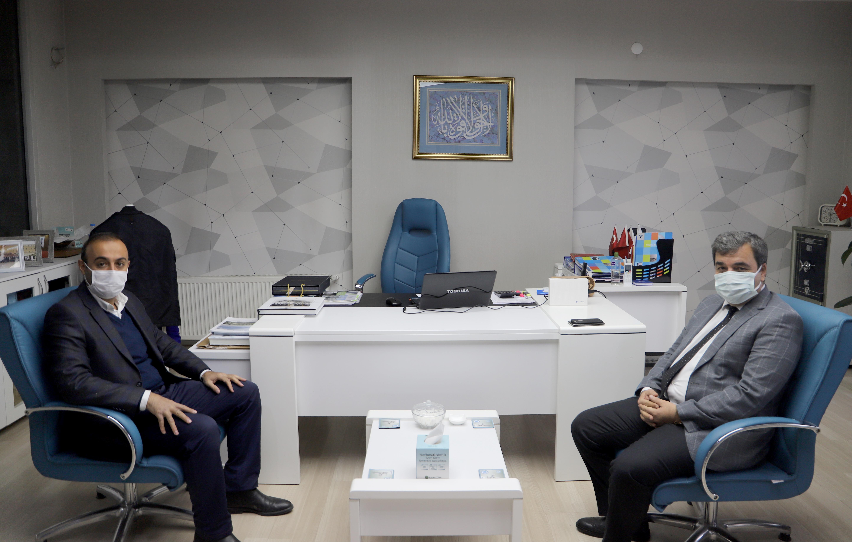 Rektörümüz Prof. Dr. Mehmet Kul Anadolu Aslanları İş Adamları Derneği (ASKON) Sivas Şubesini Ziyaret Etti