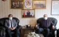 Rektörümüz Prof. Dr Mehmet Kul, Sivas Ticaret Borsası Başkanı Abdulkadir Hastaoğlu'nu Ziyaret Etti