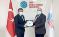 Dr. Necmi Özdemir'den Rektörümüz Prof. Dr. Mehmet Kul'a Ziyaret