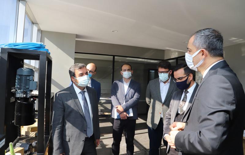 Üniversite-Sanayi İş Birliği Çalışmaları Kapsamında SBTÜ Rektörü Prof. Dr. Mehmet Kul ve Beraberindeki Heyet Otto Tayf Hidrolik A.Ş. Firmasını Ziyaret Etti