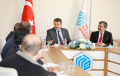 Sivas Valisi Salih Ayhan SBTÜ'nün 3. Yıl Dönümü Münasebetiyle Rektör Prof.Dr. Mehmet Kul'u Ziyaret Etti