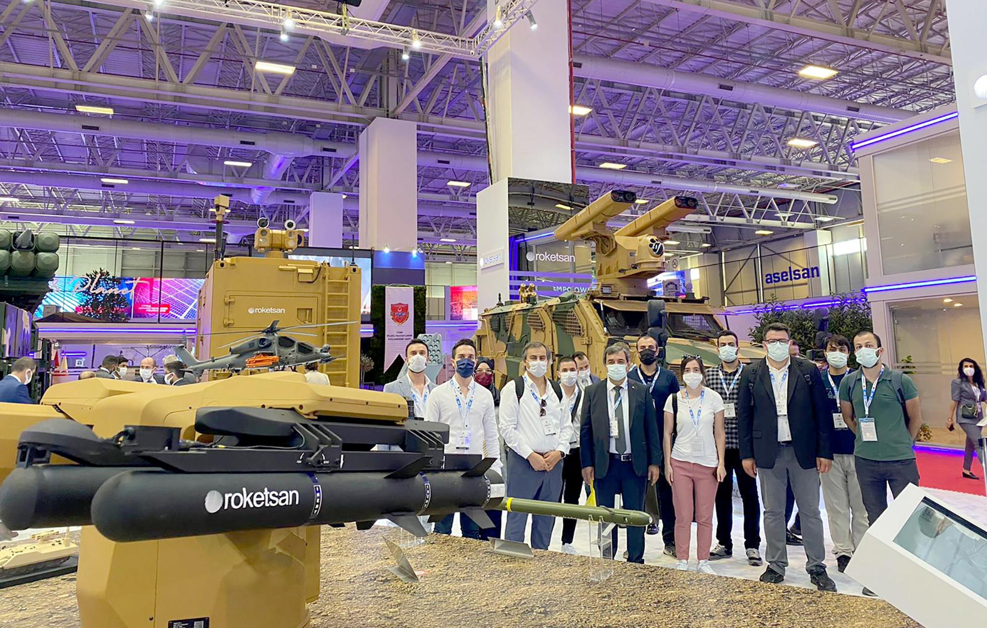 Sivas Bilim ve Teknoloji Üniversitesi, IDEF'21 - 15'inci Uluslararası Savunma Sanayii Fuarına Katıldı