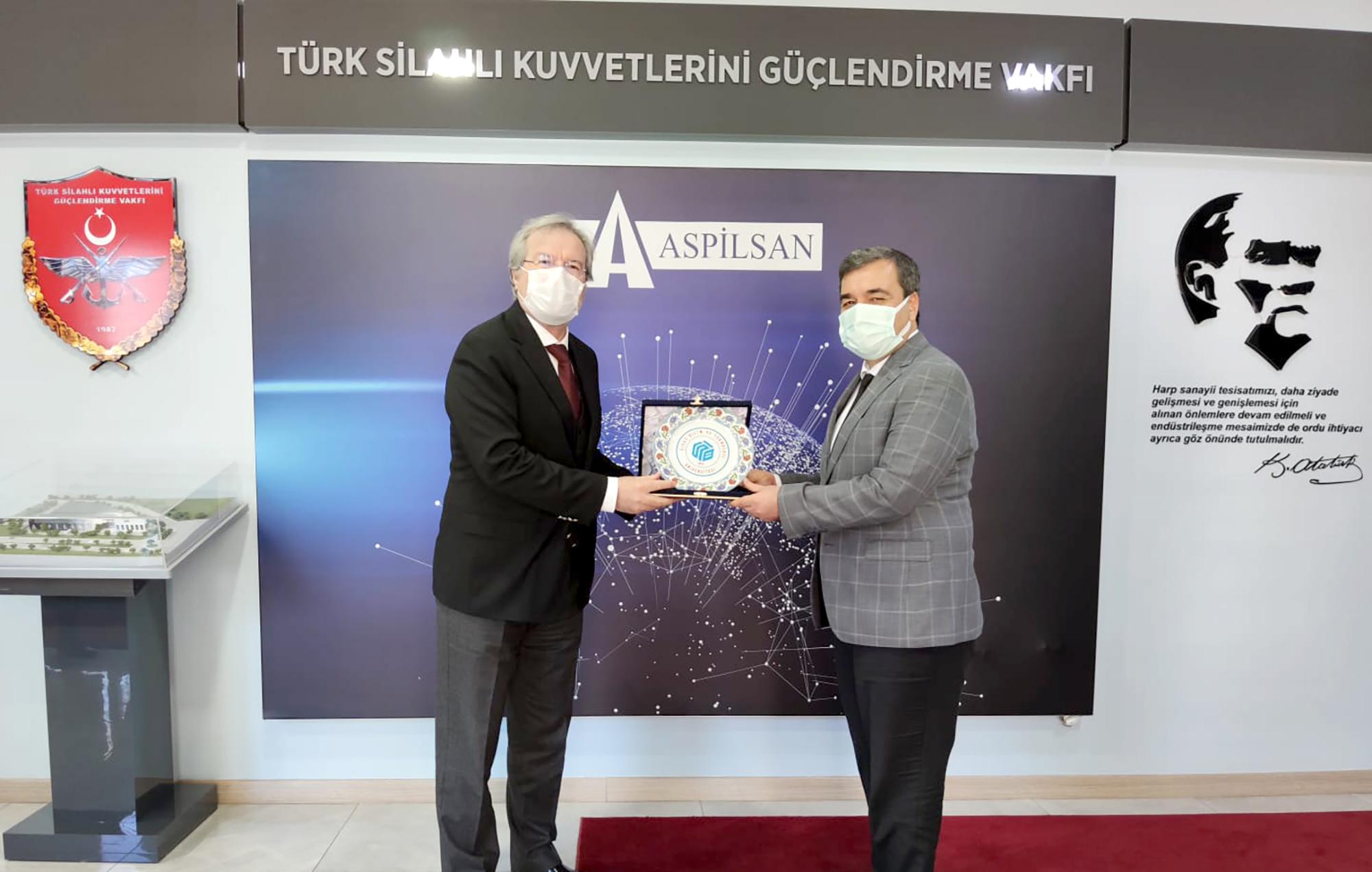 Rektörümüz Prof. Dr. Mehmet Kul ASPİLSAN Enerjiyi Ziyaret Etti
