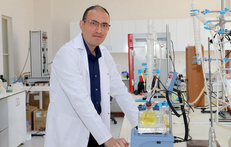 Üniversitemizde Atık Bitkisel Yağlardan Biyodizel Üretimi
