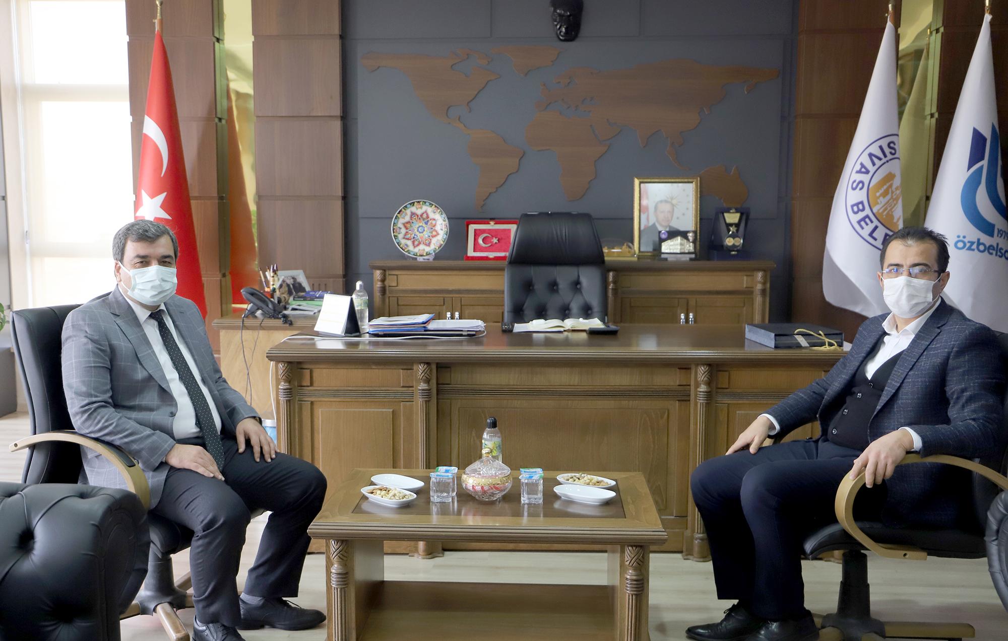 Rektörümüz Prof. Dr Mehmet Kul ÖZBELSAN AŞ'yi Ziyaret Etti