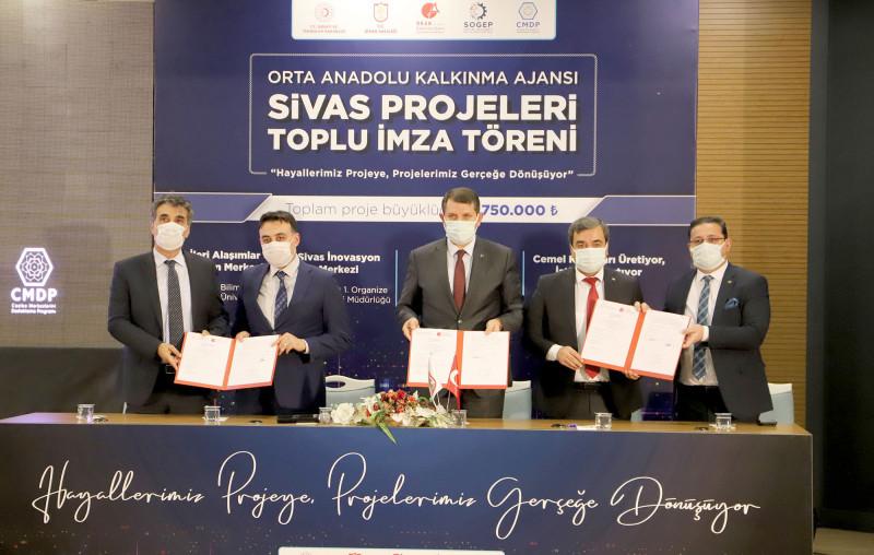 Prof. Dr. Mehmet Kul'un İleri Alaşımlar Üretim Merkezi Projesi Orta Anadolu Kalkınma Ajansı (ORAN) Tarafından Desteklendi