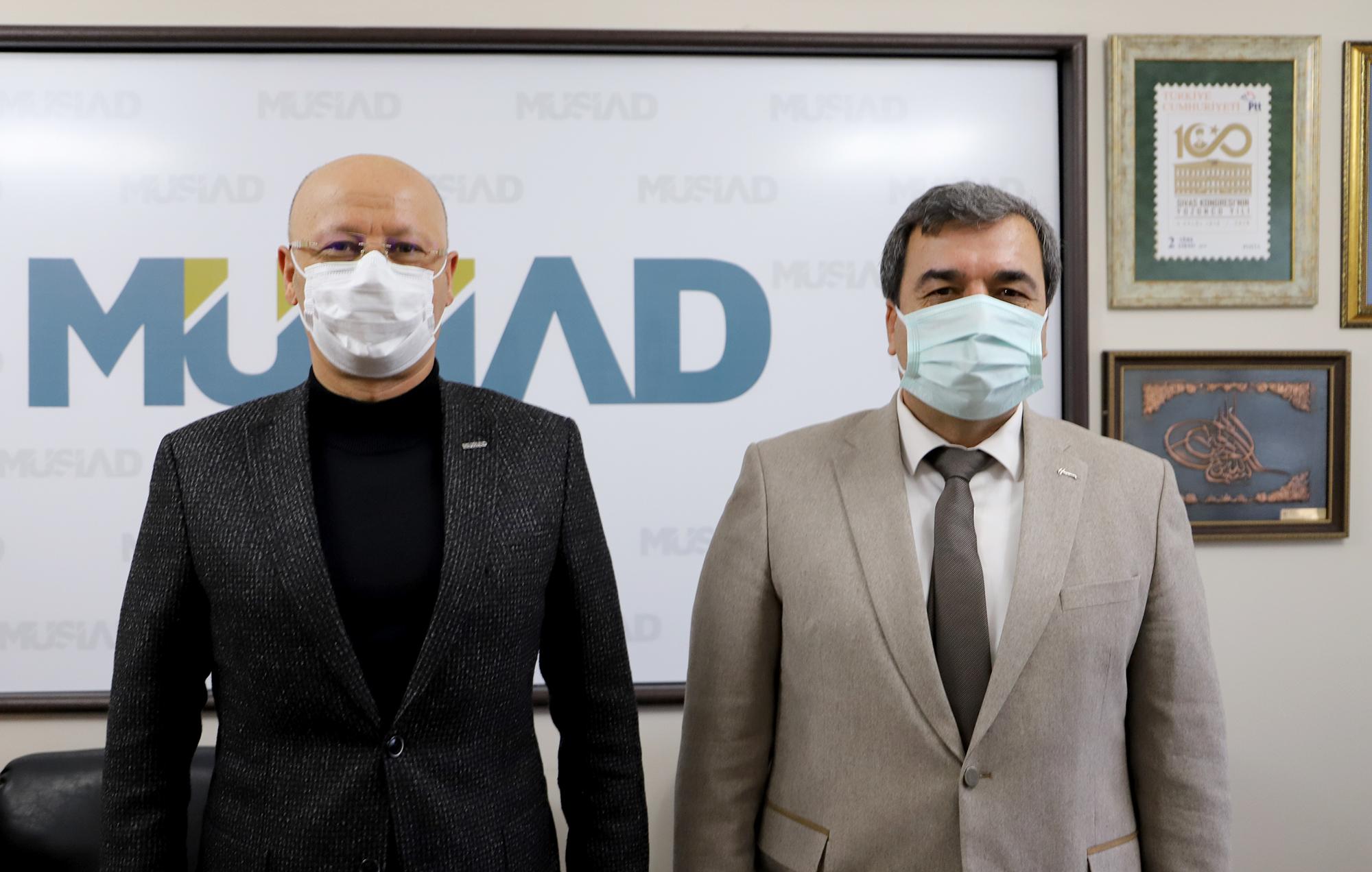 Rektörümüz Prof. Dr. Mehmet Kul'dan MÜSİAD'a Ziyaret
