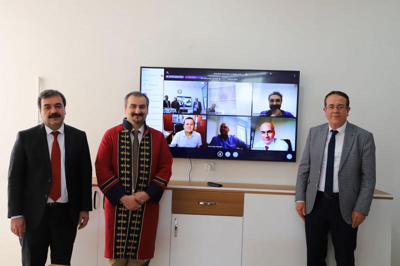 Video Konferans Sistemiyle Doçentlik Sınavı Yapıldı