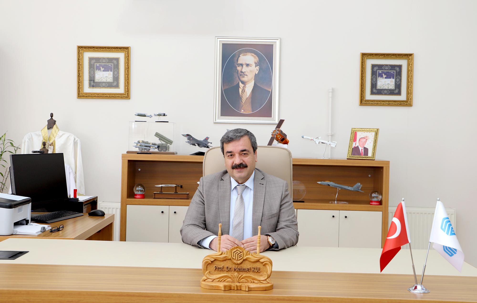Rektörümüz Prof. Dr. Mehmet Kul'un Kurban Bayramı Mesajı