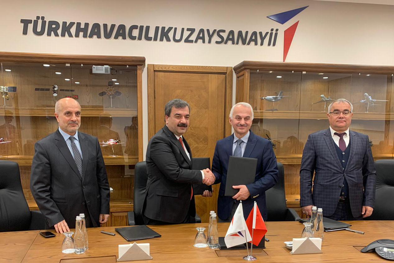 Türk Havacılık ve Uzay Sanayi ile İşbirliği Anlaşması