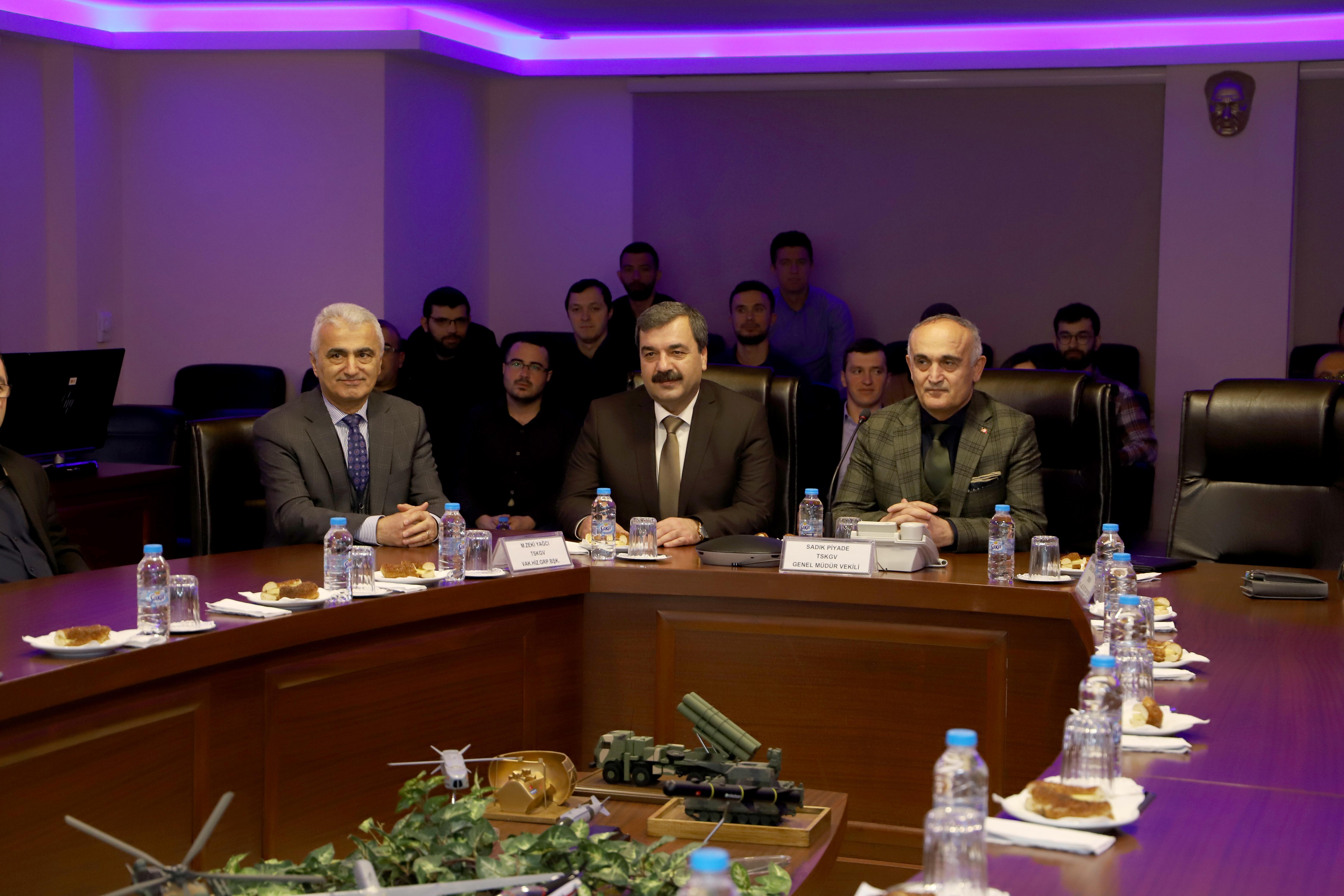 Türk Silahlı Kuvvetlerini Güçlendirme Vakfı Ziyaret Edildi